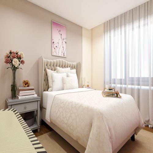 ЖК «Бирюзовая жемчужина» - Квартира №255, 2-комнатная, 54.71м2