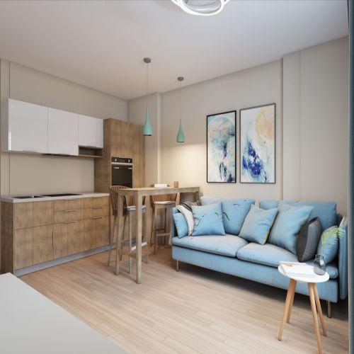 Жилой комплекс «Гранит» - Квартира №27, 3-комнатная студия, 77м2