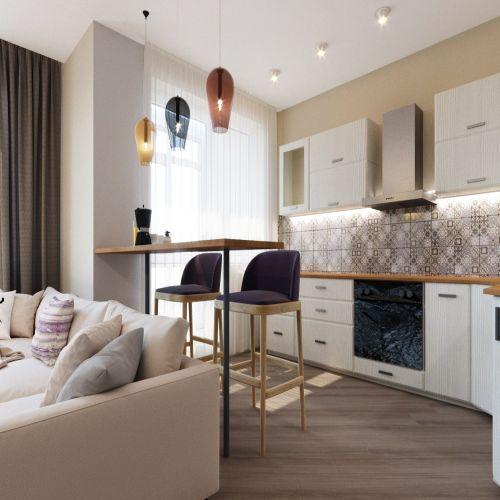 Жилой комплекс «Гранит» - Квартира №72, Студия, 28.29м2