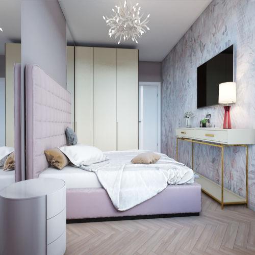 Жилой комплекс «Гранит» - Квартира №65, 2-комнатная, 59.2м2