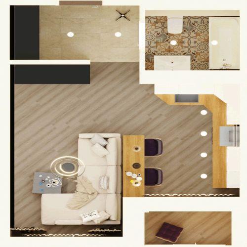 Жилой комплекс «Гранит» - Квартира №66, Студия, 28.29м2