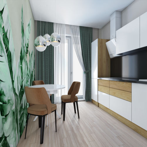 Жилой комплекс «Гранит» - Квартира №25, 2-комнатная, 59.14м2