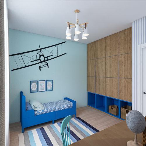 Жилой комплекс «Гранит» - Квартира №82, 3-комнатная студия, 77.15м2
