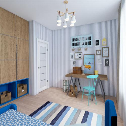 Жилой комплекс «Гранит» - Квартира №54, 3-комнатная студия, 77.15м2