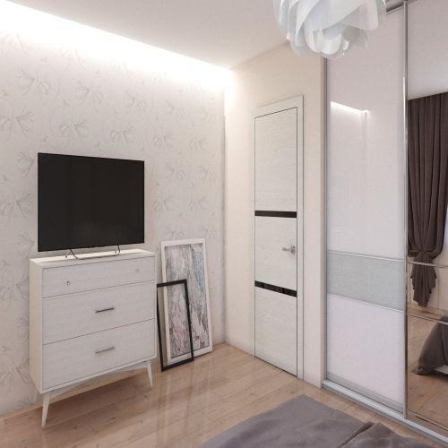 Жилой комплекс «Гранит» - Квартира №203, 3-комнатная студия, 76.44м2