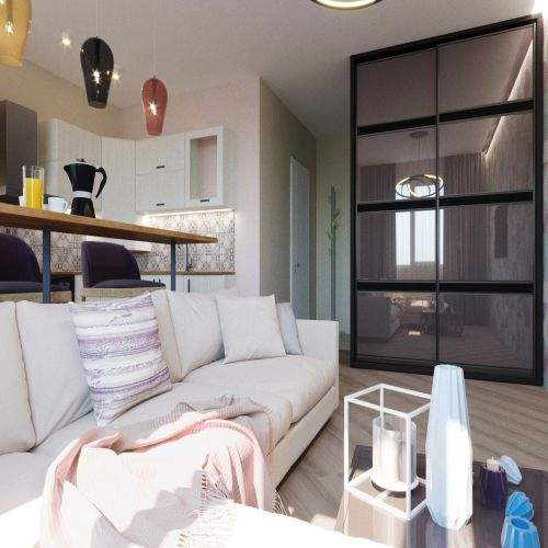 Жилой комплекс «Гранит» - Квартира №204, Студия, 28.28м2