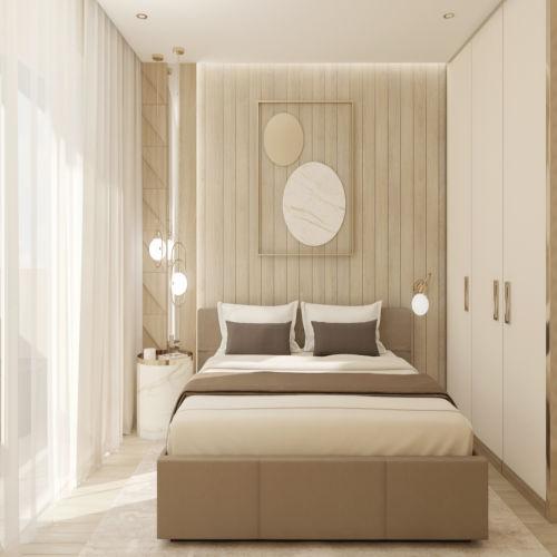 Жилой комплекс «Гранит» - Квартира №195, 2-комнатная, 58.69м2