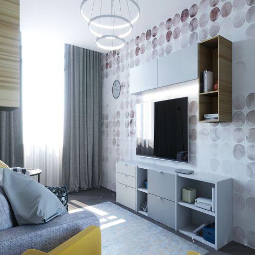 Жилой комплекс «Гранит» - Квартира №196, 2-комнатная, 58.44м2