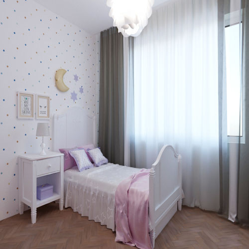 Жилой комплекс «Гранит» - Квартира №128, 3-комнатная студия, 68м2