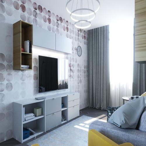 Жилой комплекс «Гранит» - Квартира №249, 2-комнатная, 58.94м2