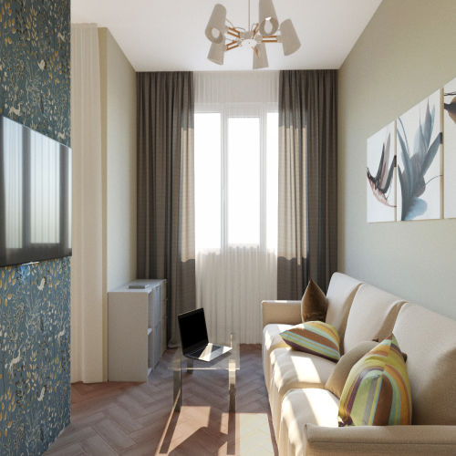 Жилой комплекс «Гранит» - Квартира №100, Студия, 28.07м2