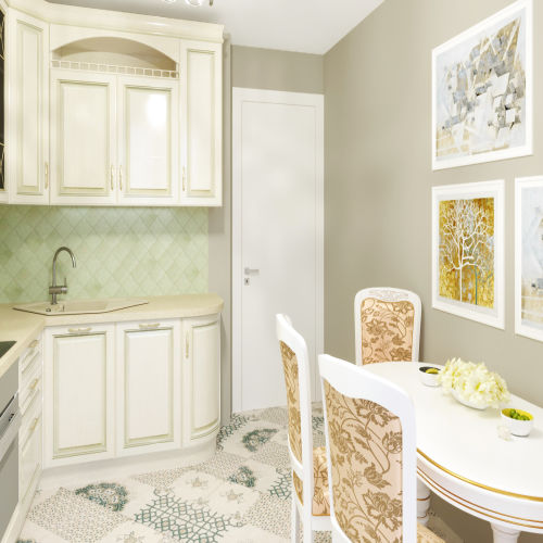 Жилой комплекс «Гранит» - Квартира №121, 2-комнатная, 58.91м2