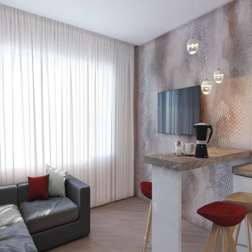 Жилой комплекс «Гранит» - Квартира №182, 3-комнатная студия, 76.67м2
