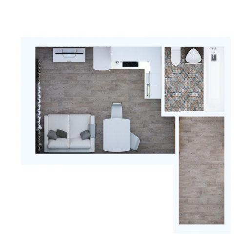 Жилой комплекс «Ломоносов» - Квартира №1, Студия, 23.6м2