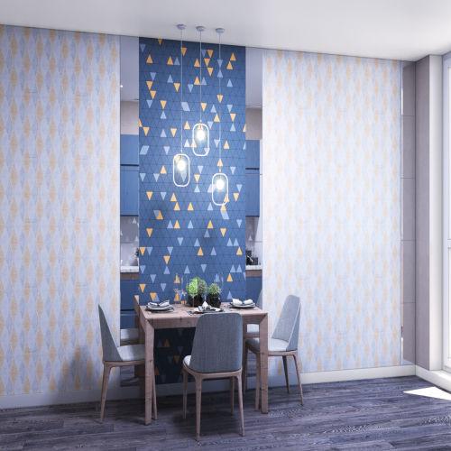 Жилой комплекс «Ломоносов» - Квартира №2, 3-комнатная, 73.52м2