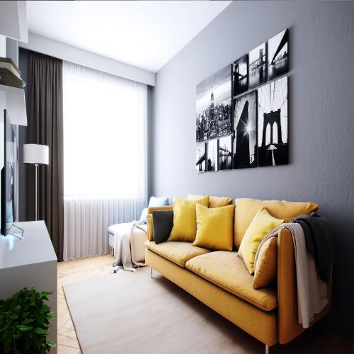 Жилой комплекс «Ломоносов» - Квартира №4, 2-комнатная, 61.24м2