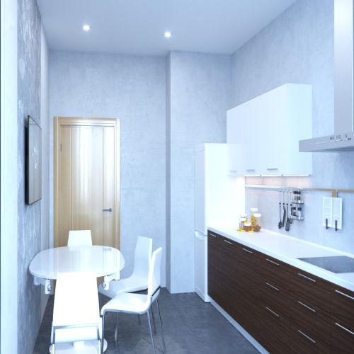 Жилой комплекс «Ломоносов» - Квартира №8, 3-комнатная, 71.94м2
