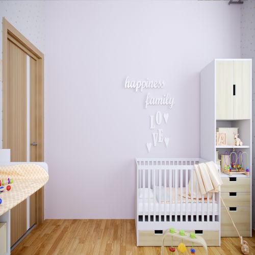 Жилой комплекс «Ломоносов» - Квартира №190, 3-комнатная, 67.13м2
