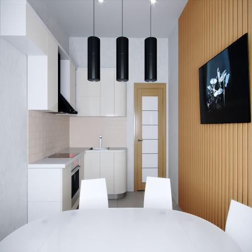 Жилой комплекс «Ломоносов» - Квартира №200, 2-комнатная, 60.15м2