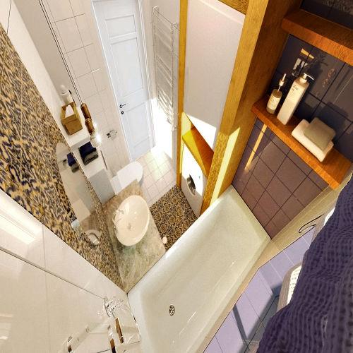 Жилой комплекс «Островский» - Квартира №124, 3-комнатная, 79.34м2