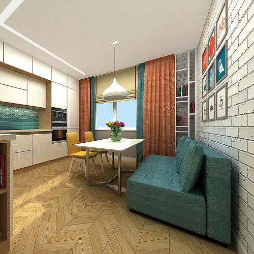 Жилой комплекс «Островский» - Квартира №190, 3-комнатная, 79.34м2