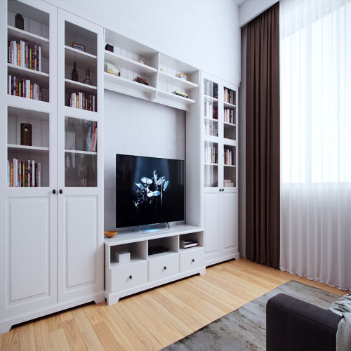 Жилой комплекс «Ломоносов» - Квартира №58, 2-комнатная, 55.08м2