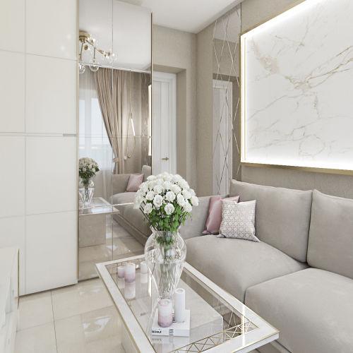 Жилой комплекс «Ломоносов» - Квартира №214, 1-комнатная, 37.13м2