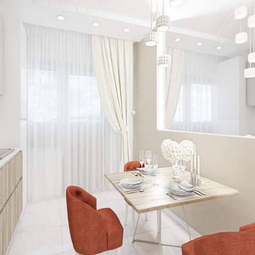 Жилой комплекс «Ломоносов» - Квартира №70, 1-комнатная, 37.02м2
