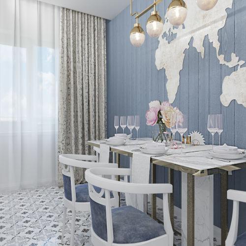 Жилой комплекс «Ломоносов» - Квартира №215, 2-комнатная, 60.69м2