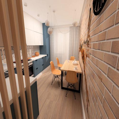 Жилой комплекс «Островский» - Квартира №307, 1-комнатная, 41.09м2