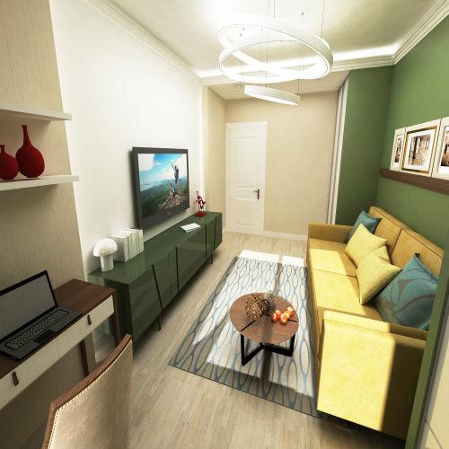 Жилой комплекс «Островский» - Квартира №284, 2-комнатная, 64.39м2