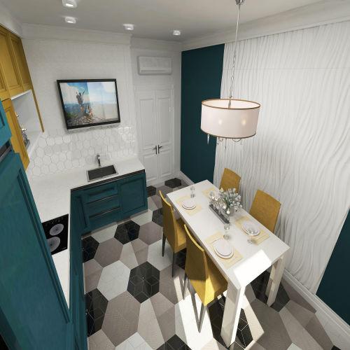 Жилой комплекс «Островский» - Квартира №314, 2-комнатная, 64.39м2