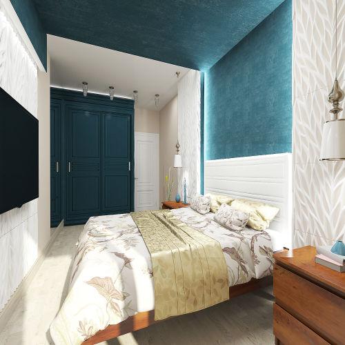 Жилой комплекс «Островский» - Квартира №403, 2-комнатная, 64.39м2