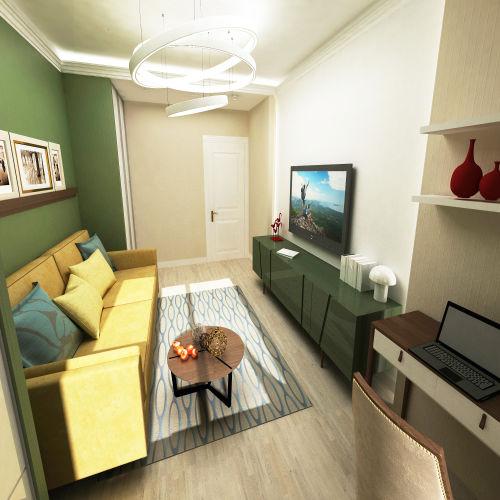 Жилой комплекс «Островский» - Квартира №393, 2-комнатная, 64.39м2