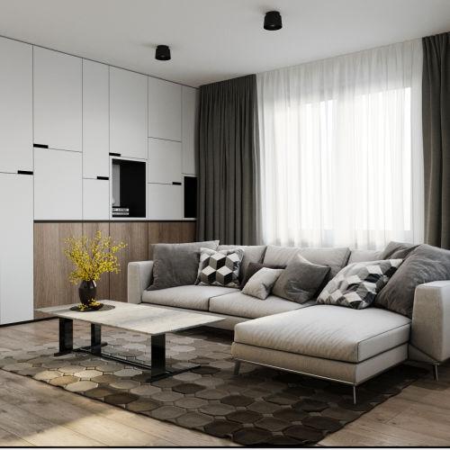 ЖК «Чкалов» - Квартира №72, 1-комнатная, 39.98м2