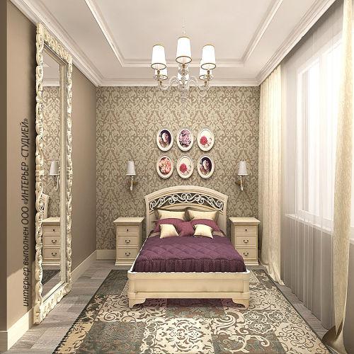 Жилой комплекс «Островский» - Квартира №180, 2-комнатная, 52.77м2