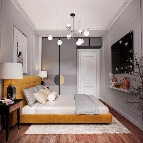 ЖК «Чкалов» - Квартира №80, 2-комнатная, 53.23м2