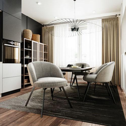 ЖК «Чкалов» - Квартира №282, 1-комнатная, 40.82м2
