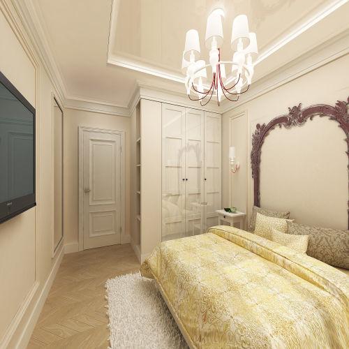 Жилой комплекс «Островский» - Квартира №82, 3-комнатная студия, 57.83м2