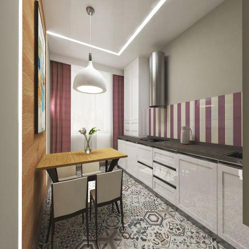 Жилой комплекс «Островский» - Квартира №138, 1-комнатная, 32.99м2