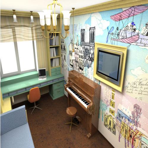 Жилой комплекс «Островский» - Квартира №161, 3-комнатная студия, 57.83м2