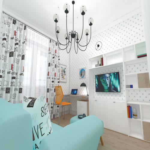 Жилой Комплекс «Калининский-2» - Квартира №16, 4-комнатная студия, 86.76м2