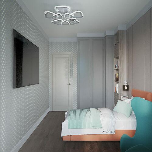 Жилой Комплекс «Калининский-3» - Квартира №115, 3-комнатная, 99.7м2