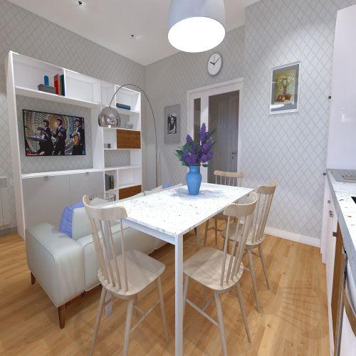 Жилой Комплекс «Калининский-2» - Квартира №167, 3-комнатная студия, 63.92м2