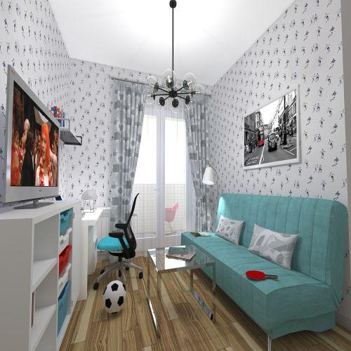 Жилой Комплекс «Калининский-2» - Квартира №147, 3-комнатная студия, 63.92м2