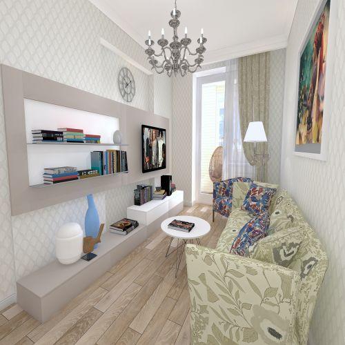 Жилой Комплекс «Калининский-2» - Квартира №68, 1-комнатная, 37.95м2