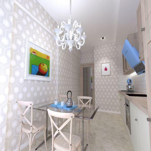 Жилой Комплекс «Калининский-2» - Квартира №50, 1-комнатная, 38.73м2