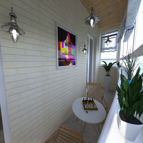 Жилой Комплекс «Калининский-2» - Квартира №221, 4-комнатная студия, 80.89м2