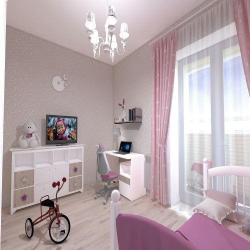Жилой Комплекс «Калининский-2» - Квартира №71, 4-комнатная студия, 80.89м2