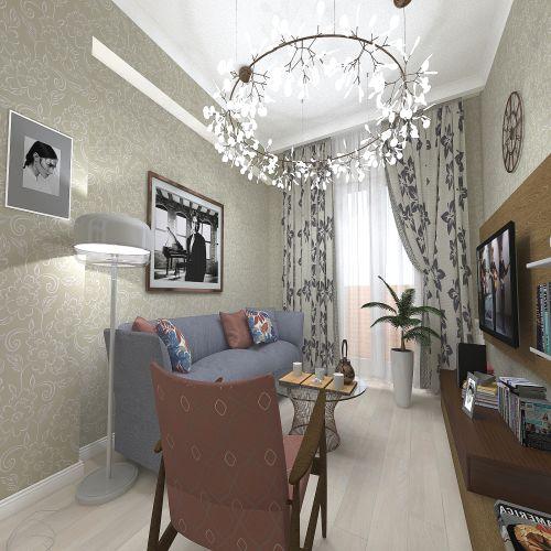 Жилой Комплекс «Калининский-2» - Квартира №142, 2-комнатная, 58.51м2